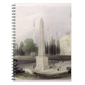 An Egyptian obelisk in the Atmeidan, or Hippodrome Notebook