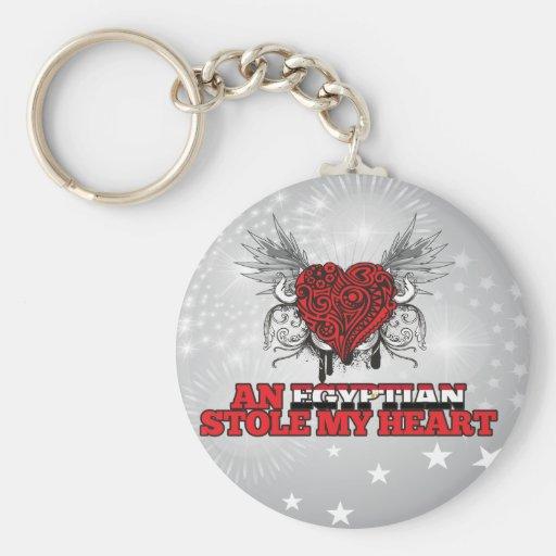 An Egyptian Stole my Heart Key Chain