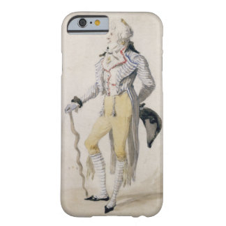 An Elegant Male Figure, 1793 (pencil and w/c on pa Barely There iPhone 6 Case