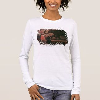 An Elephant Shown in Venice (oil on canvas) Long Sleeve T-Shirt