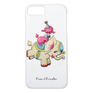 An Elephants Circus iPhone 7 Case
