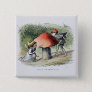 An Elf in Search of a Fairy, illustration from 'In 15 Cm Square Badge