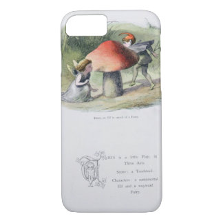 An Elf in Search of a Fairy, illustration from 'In iPhone 8/7 Case