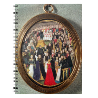 An Elizabethan Maundy Ceremony, c.1560 (w/c on vel Notebook