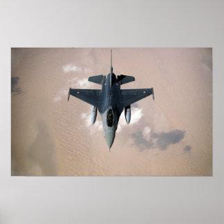 An Emirati F-16 Poster
