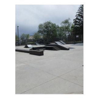 An Empty Skate Park Postcard