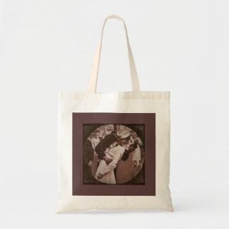 An End of War Kiss Budget Tote Bag