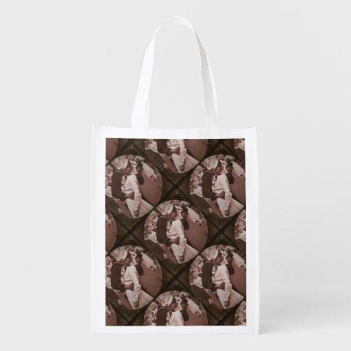 An End of War Kiss Grocery Bag