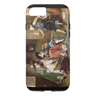 An Engaging Tale, 1894 (oil on panel) iPhone 8/7 Case