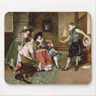 An Engaging Tale, 1894 (oil on panel) Mouse Pad
