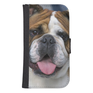 An english bulldog in Belgium. Samsung S4 Wallet Case