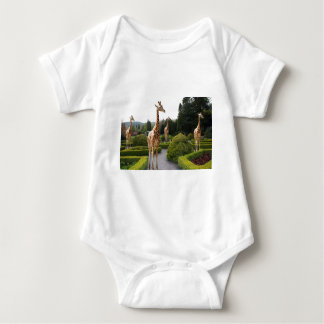 An English Country Garden Baby Bodysuit