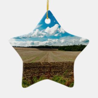 An English Sky Christmas Ornament