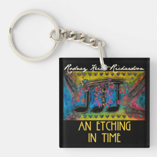 An Etching In Time Customizable Keychain