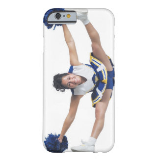 an ethnic teenage female cheerleader jumps high barely there iPhone 6 case