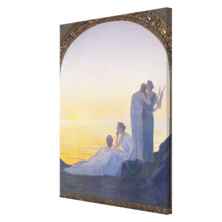 An Evening in Ancient Times, 1908 Canvas Print