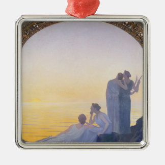 An Evening in Ancient Times, 1908 Christmas Ornament