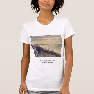 An Evening In Grand Camp By Seurat Georges T Shirts