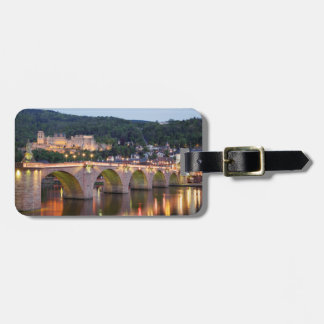 An evening in Heidelberg Luggage Tag