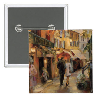 An Evening in Paris 15 Cm Square Badge
