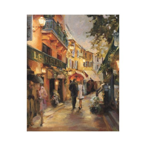 An Evening in Paris Stretched Canvas Prints