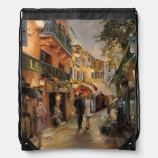An Evening in Paris Drawstring Bag