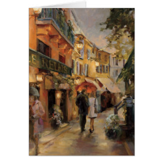 An Evening in Paris Greeting Card