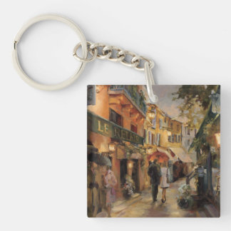 An Evening in Paris Acrylic Key Chain
