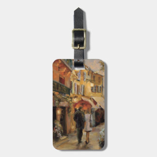 An Evening in Paris Luggage Tag