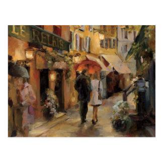 An Evening in Paris Postcard