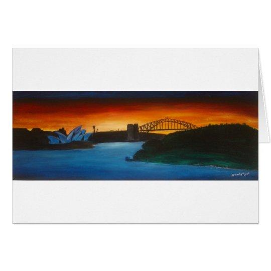 An Evening In Sydney Card