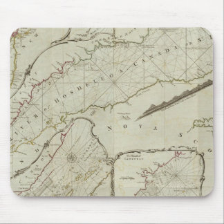 An exact chart of the River St Laurence Mouse Pad