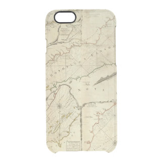 An Exact Chart of the River St Lawrence Clear iPhone 6/6S Case
