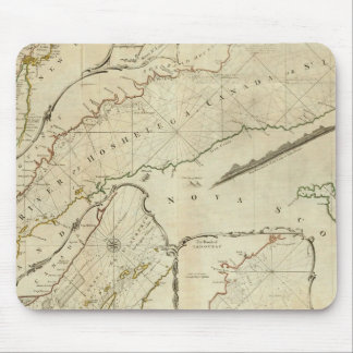 An Exact Chart of the River St Lawrence Mouse Mat