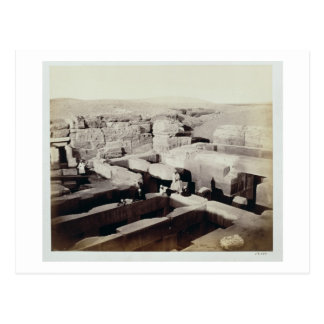 An Excavated Temple at the foot of the Sphinx, 4th Postcard