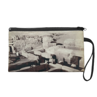 An Excavated Temple at the foot of the Sphinx, 4th Wristlet Clutches