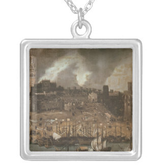 An Expedition Setting out from Seville for Silver Plated Necklace