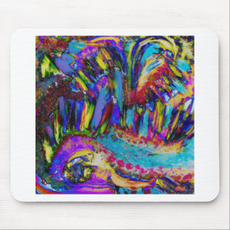 An explosion of Joy Mouse Mat