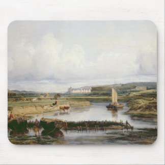 An Extensive River Landscape with a View of the Ch Mouse Mat