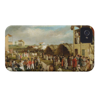 An Extensive View of the Oxford Races (oil on canv iPhone 4 Covers