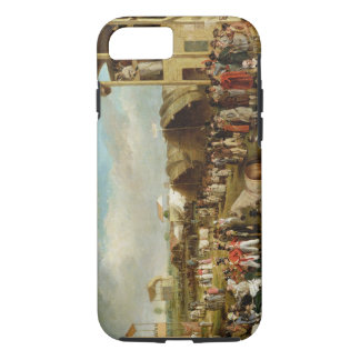 An Extensive View of the Oxford Races (oil on canv iPhone 8/7 Case