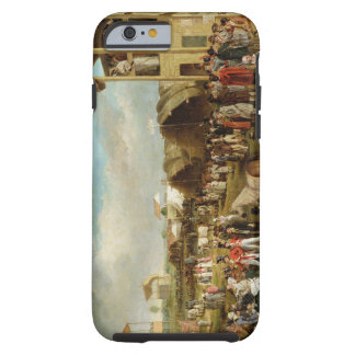 An Extensive View of the Oxford Races (oil on canv Tough iPhone 6 Case
