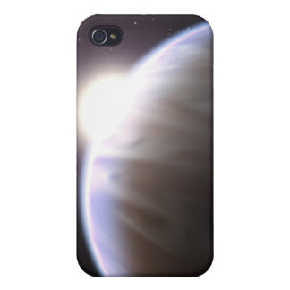 An extrasolar planet with its parent star cases for iPhone 4