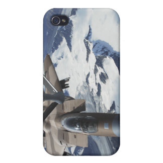 An F-15C Eagle aircraft sits behind a KC-135R iPhone 4/4S Covers