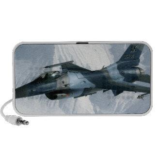 An F-16 Aggressor Travelling Speaker