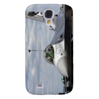 An F-16 Fighting Falcon Galaxy S4 Case