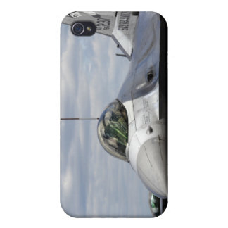 An F-16 Fighting Falcon iPhone 4/4S Covers