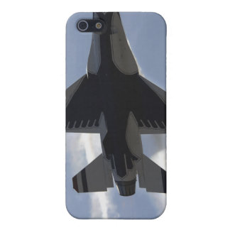 An F-16 Fighting Falcon pulls high G's iPhone 5 Case