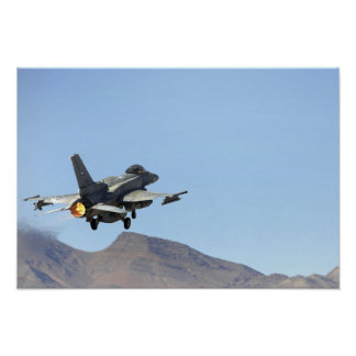 An F-16E from the United Arab Emirates Poster