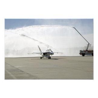 An F-18 aircraft Photo Print